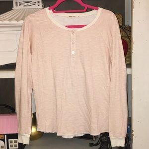 Marine layer medium striped t shirt